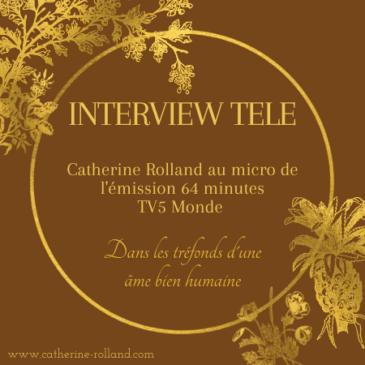 Interview pour TV5 Monde
