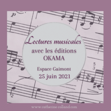 Lectures musicales Okama, juin 2021