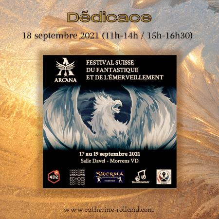 17 – 19 septembre 2021 : Festival Arcana